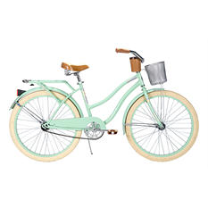 "Huffy 26"" Deluxe Cruiser Bike - Seafoam or Metallic"