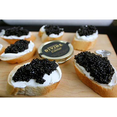 Northern Divine Certified Organic Sturgeon Caviar (30 g tin)