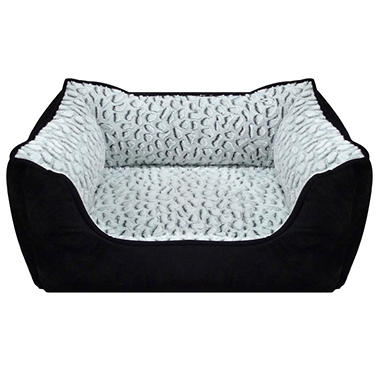 Canine Creations Lounger Pet Bed - Jaguar Black