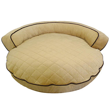 Canine Creations Bolster Pet Bed - Sand