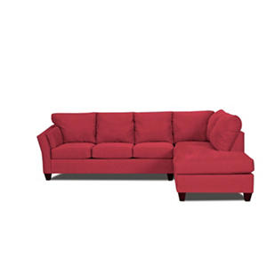 Andrew 2 Piece Sectional - Red