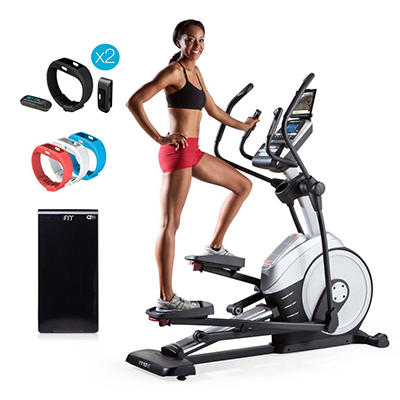ProForm 1110 E Elliptical w/ iFit Active Trackers(2), Module and Wrist Band