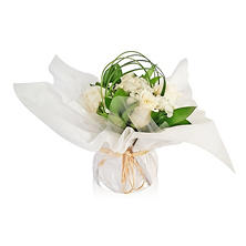 Floral Centerpieces, Touch of Class - White (5 ct.)