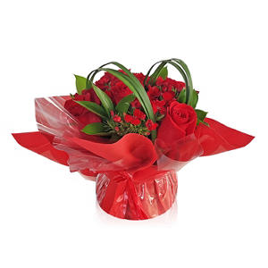 Floral Centerpieces, Touch of Class - Red (5 ct.)