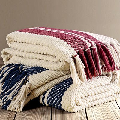 """Chenille Throw 60"""" x 70"""" - Various Patterns"""