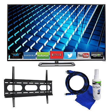 "65"" VIZIO LED 1080p Smart HDTV w/ Mount Kit"