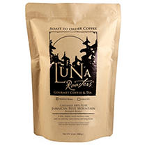 Luna Roasters 100% PURE Jamaican Blue Mountain Roast-to-Order Whole Bean Coffee - 2lbs.
