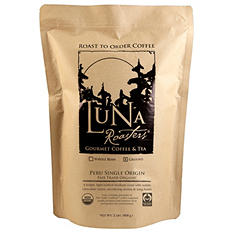 Luna Roasters 100% Artisan Roast Coffee, Ground,  Choose Flavor (2 lb.)