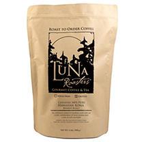 Luna Roasters 100% PURE Hawaiian Kona Roast-to-Order Ground Coffee - 2lbs.