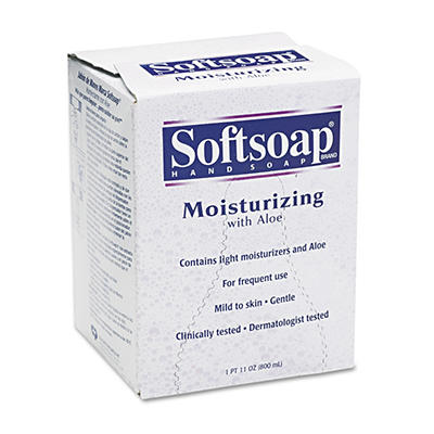 Softsoap Moisturizing Hand Soap with Aloe - Refill - 800 mL - 12 cartons