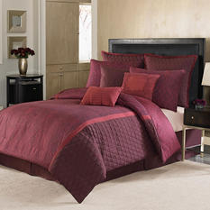 Nicole Miller 9-Piece Comforter Set - Queen