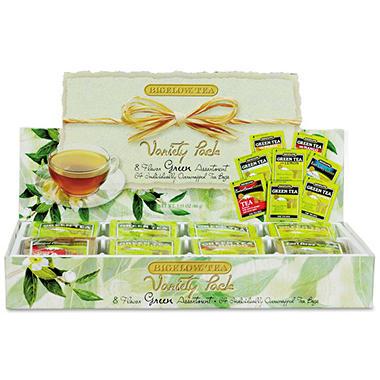 Green Tea Assortment - 64 Tea Bags