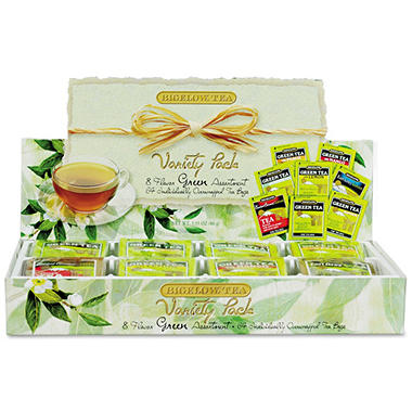 Green Tea Assortment - 64 Tea Bags
