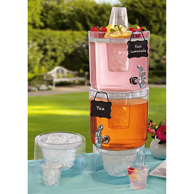 Daily Chef Stackable Beverage Dispensers