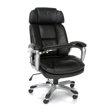 Oro Series Adjustable Back Bolster Tablet Executive Chair