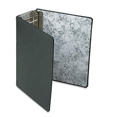 """Oxford Catalog Binder With Expanding Posts, 11 x 8-1/2, 3"""" to 5-1/2"""" Capacity - Black"""