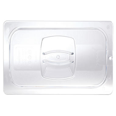 "Rubbermaid Commercial Cold Food Pan Covers - 20 4/5""W x 12 4/5""D - Clear"