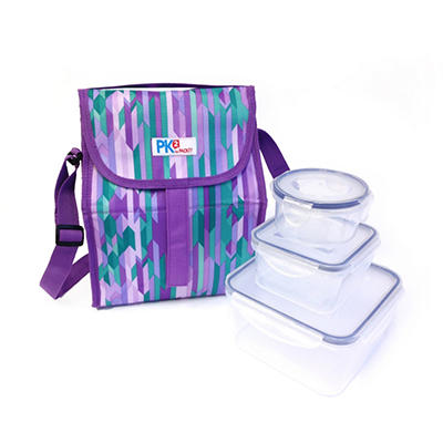 PackIt Freezable Lunch Sack with Containers - Multiple Patterns