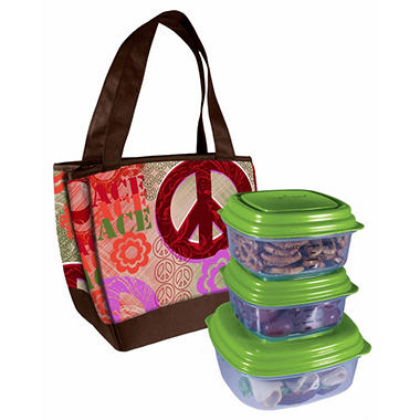Fit & Fresh Hyannis Bag & Lunch Set