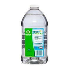 Green Works Glass & Surface Cleaner (6 pk., 64 oz. Refill Bottles)