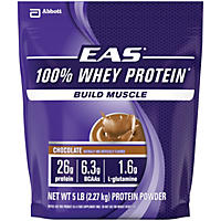 EAS 100% Whey Protein Powder, Chocolate (5 lbs.)