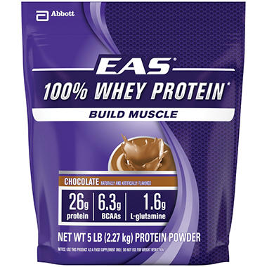 EAS® 100% Whey Protein - Chocolate - 5 lbs.