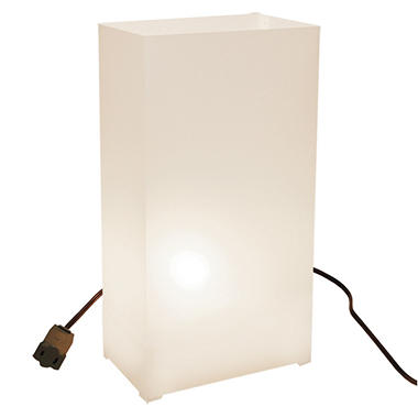 Electric Luminaria Kit - White