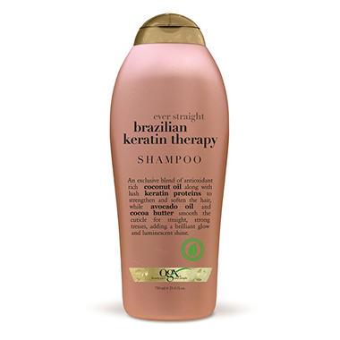 Organix Straight Brazilian Keratin Therapy Shampoo (25.4 oz.)