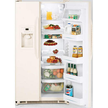 GE® Energy Star® Side-by-Side Refrigerator - 22 cu. ft.