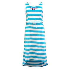Girls Knit Maxi Length Dress (Assorted Colors)