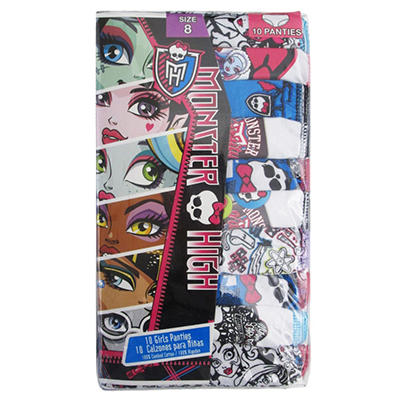 Monster High Underwear - 10 pk.