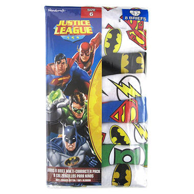 Justice League Underwear - 8 pk.