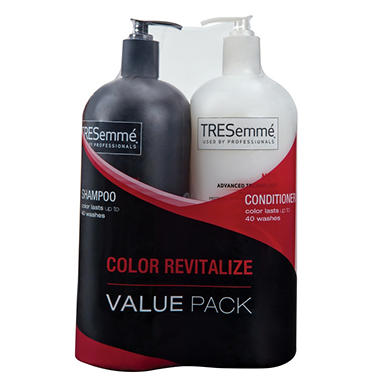 TRESemmé Shampoo & Conditioner Value Pack - Color Revitalize - 44 oz. each