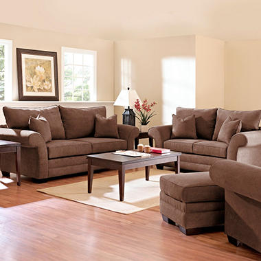Willow Sofa Set - Java - 4 pc.
