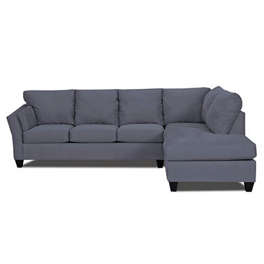 Andrew LAF Sectional - Ink - 2 pc.