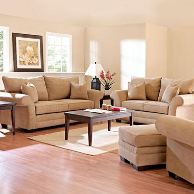 Willow Sofa Set - Bronze - 4 pc.