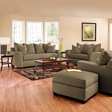 Angel Sofa Set - Thyme - 4 pc.