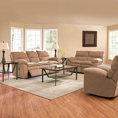Jacob Reclining Set - Mocha -  3 pc.