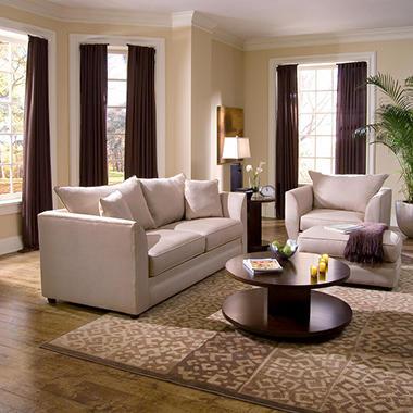 Cosby Queen Sleeper Sofa Set - 3 pc..