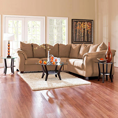 Beverly Sectional - Straw - 2 pc.