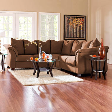 Beverly Sectional - Chocolate - 2 pc.