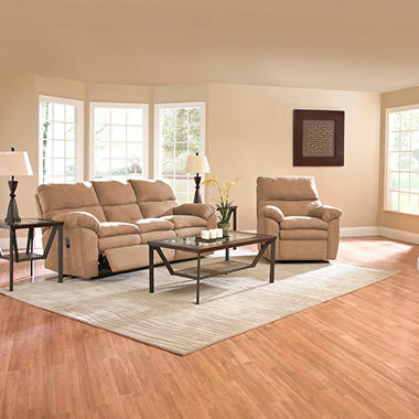 Jacob Reclining Set - Mocha - 2 pc.