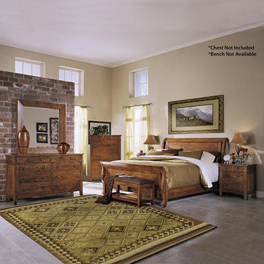 Nicholas Urban Bedroom Set by Prestige Design - King - 5 pc.