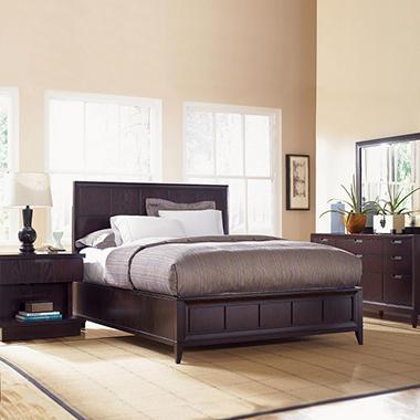 Jenna Bedroom Set by Prestige Designs - King - 4 pc.
