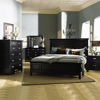 Layla Bedroom by Prestige Designs - King - 6 pc..