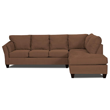 Andrew Sectional - Chocolate - 2 pc.