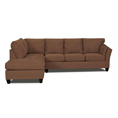 Andrew 2 Piece Sectional - Chocolate