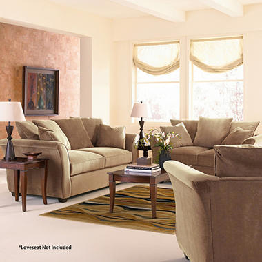 Kara Sofa set - Coffee - 3 pc.