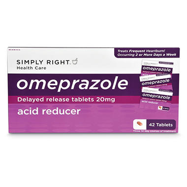 Simply Right™ Omeprazole Tablets