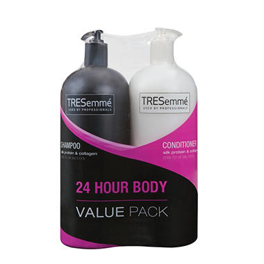 TRESemm� Shampoo & Conditioner Value Pack - 24 Hour Body - 44 oz. each